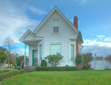 Home for sale on Bellingham Lettered Streets